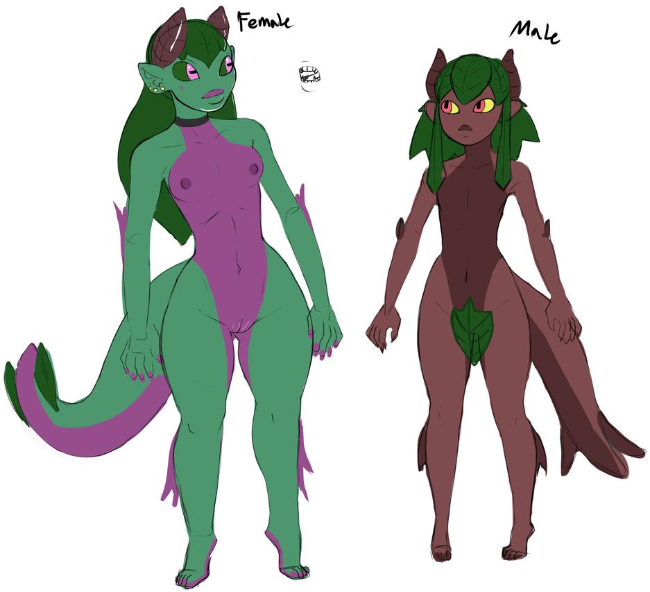 Femalexmale by Tra169