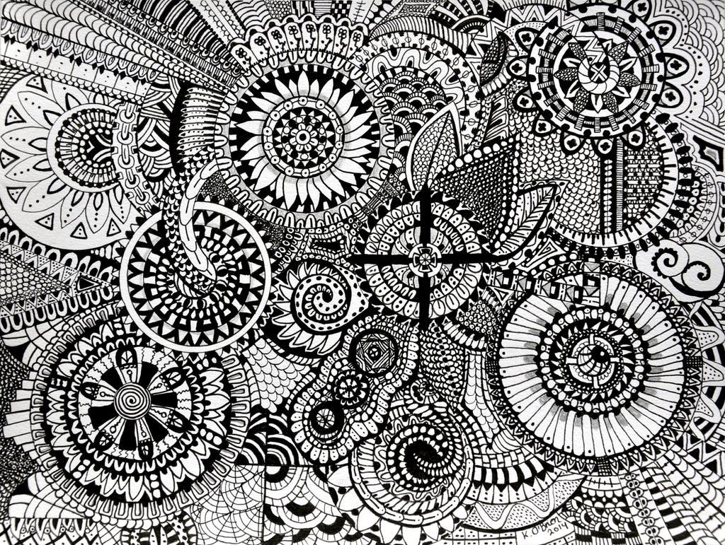 Big Mandala By Akobrien On Deviantart