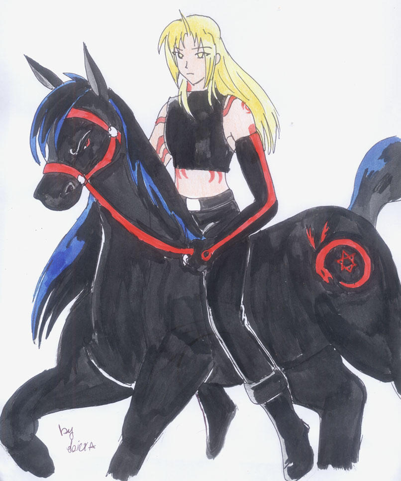 FMA-Ed_Pride and Death. by BTfan