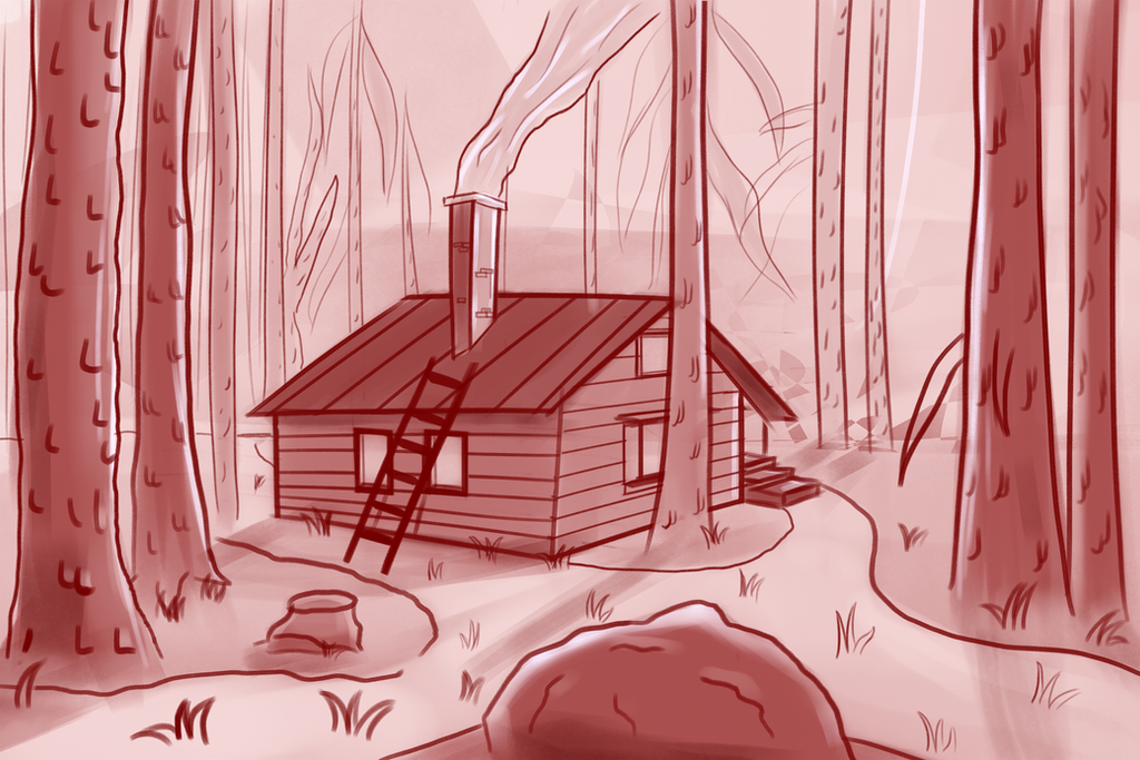 Cabin In The Woods by jamheadii