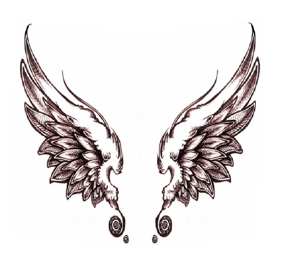 dark angel wings by uchiharenee1515 on DeviantArt