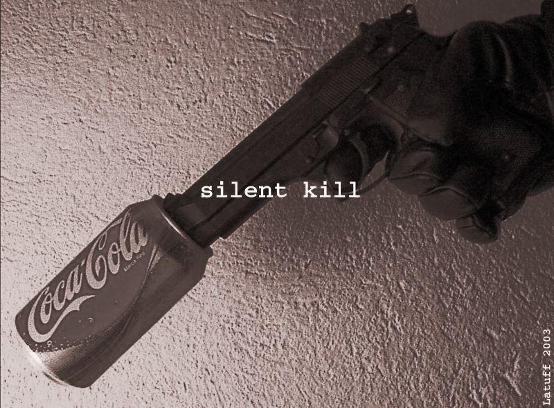 Silent Kill by latuff