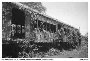 Railroad postcard
