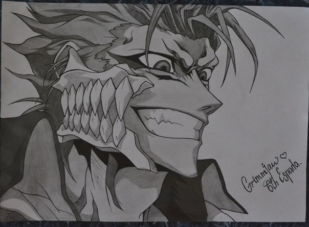 Grimmjow by ayamechan14