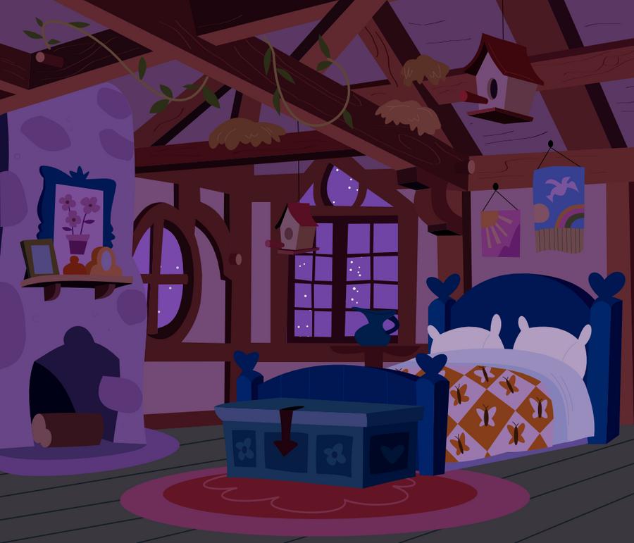 Fluttershy's Bedroom By Adcoon On DeviantArt