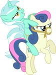 Lyra Riding BonBon