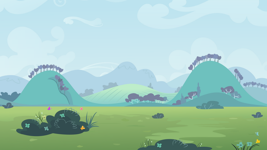 Ponies fly by background by adcoon on deviantart - My little jardin ...