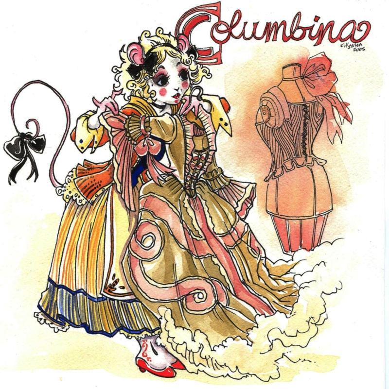 Columbina by Punchinello-Punch