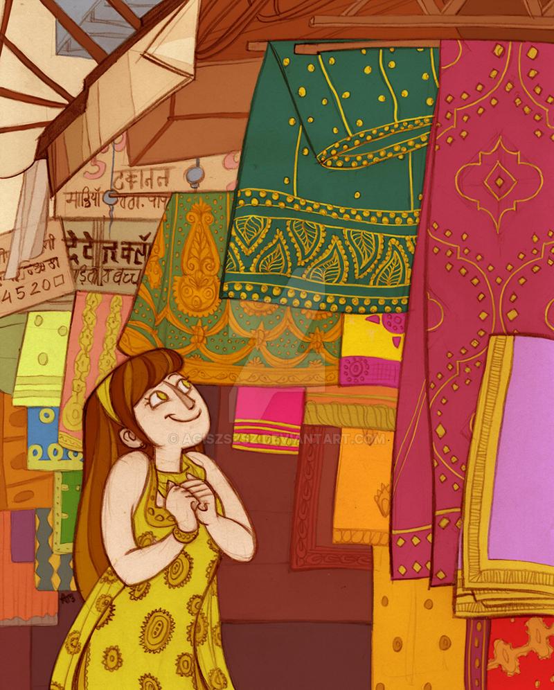 Jaipur market by agiszszsz