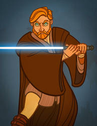 obiwan being cool