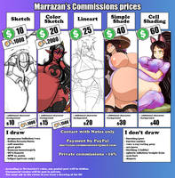 Commissions by Marrazan