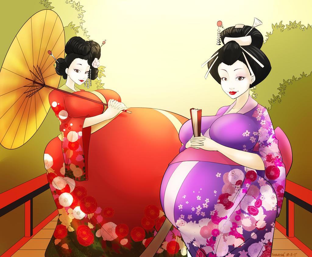 Mayternity Through Time - Edo Japan