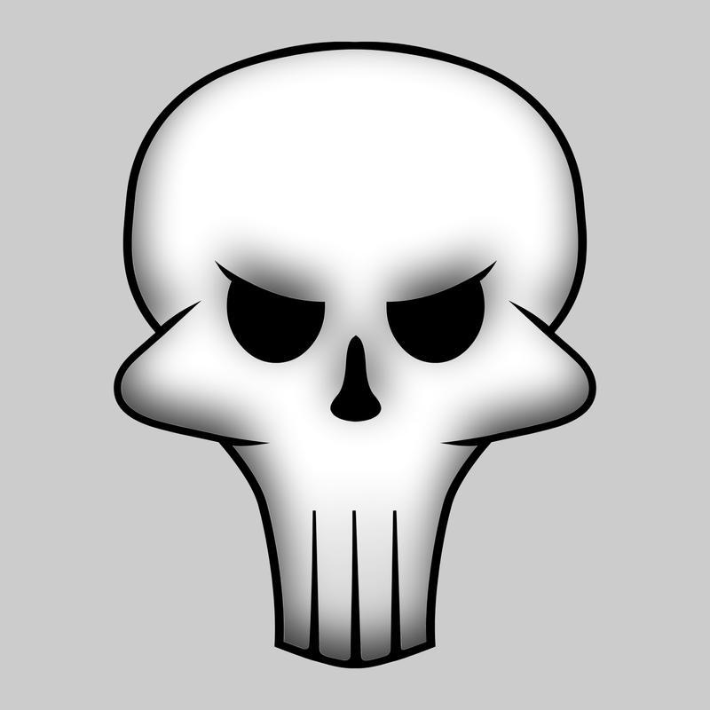 Cartoon Skull Cartoon Skull Abstract Wip 04