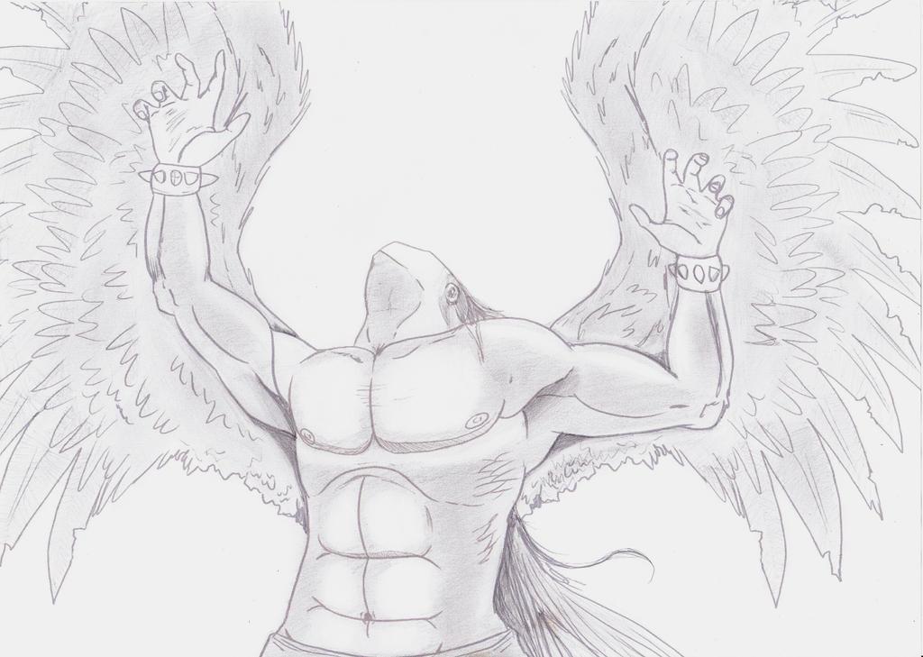 the fallen angel by DeeJR