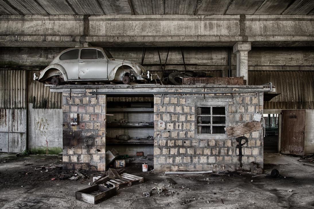 No roads here #3 by david-rf