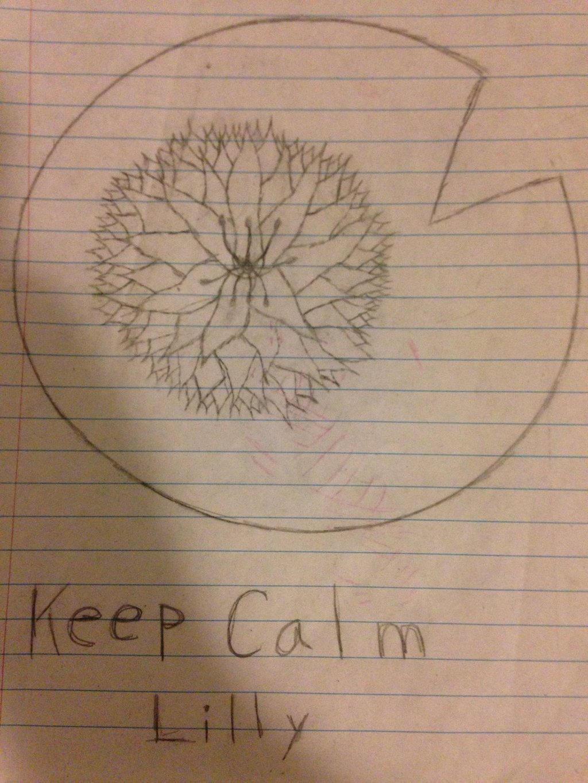 Keep calm lily by Mrbacon360