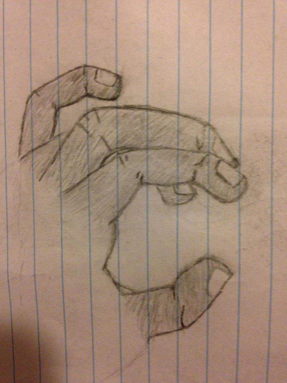 Hand I drew by Mrbacon360