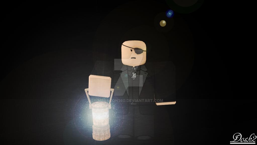 Scary dosk by Mrbacon360