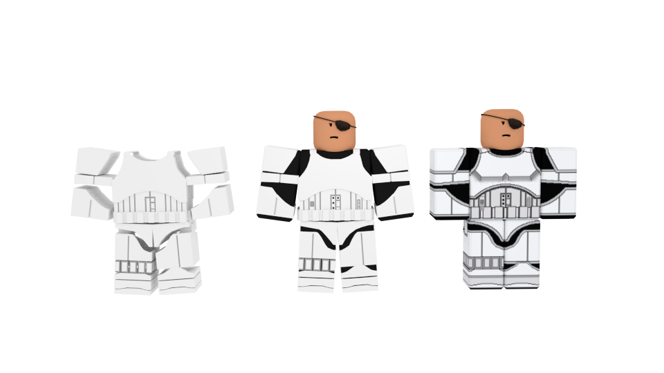 Custom made Storm Trooper armor [Front] by Mrbacon360