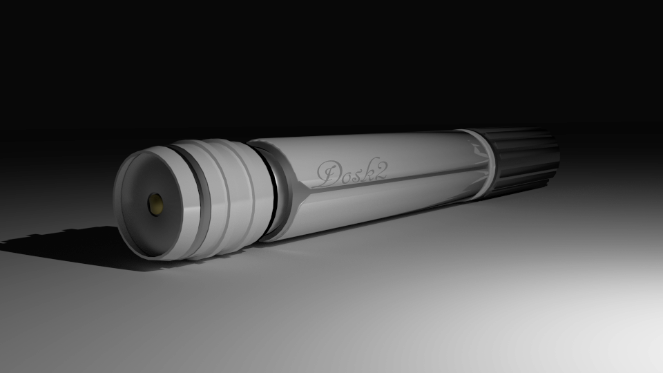 Jedi Lightsaber by Mrbacon360