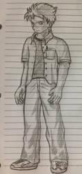 Random Guy by Cidow-San