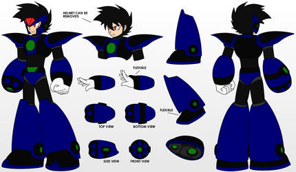 2.0 Ryou - Character Sheet by Cidow-San