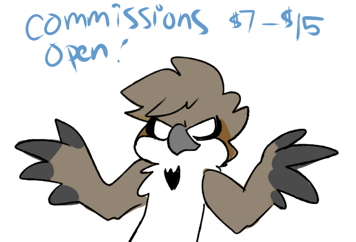 Commissions Open!++ by Switchbladesparrow