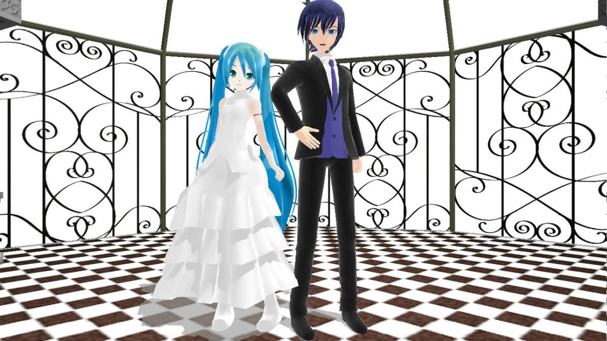 Miku kaito wedding