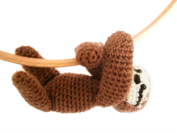 Amigurumi Crochet Sloth Free Pattern (With images) | Crochet baby ... | 563x750