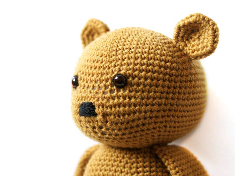 Toffee Teddy Bear Amigurumi Pattern by MysteriousCats on ...