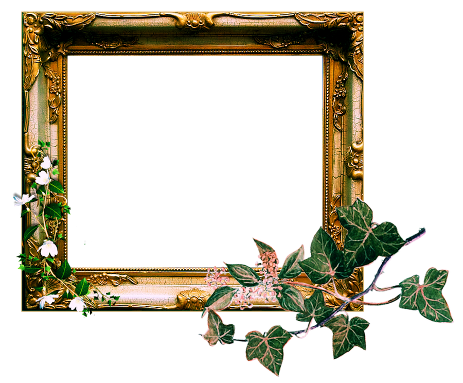 Vintage Wooden Frames Png Vintage Ornate Frame Png by