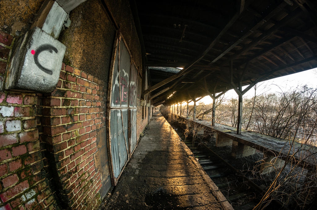 Abandoned shed by EkNoa