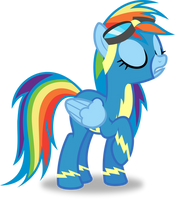 A Smug Rainbow Wonderbolt! by 8-Notes