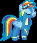 A Smug Rainbow Wonderbolt!
