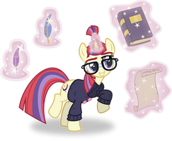 Study Time With Moondancer! by 8-Notes