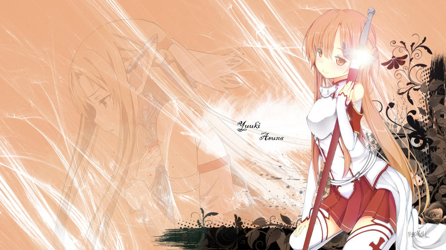 Asuna Wallpaper By Fyrokai