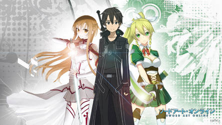 Sword art online wallpaper by Fyrokai