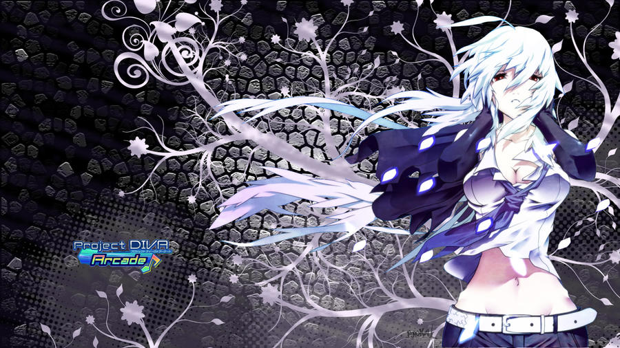 Vocaloid wallpaper by Fyrokai