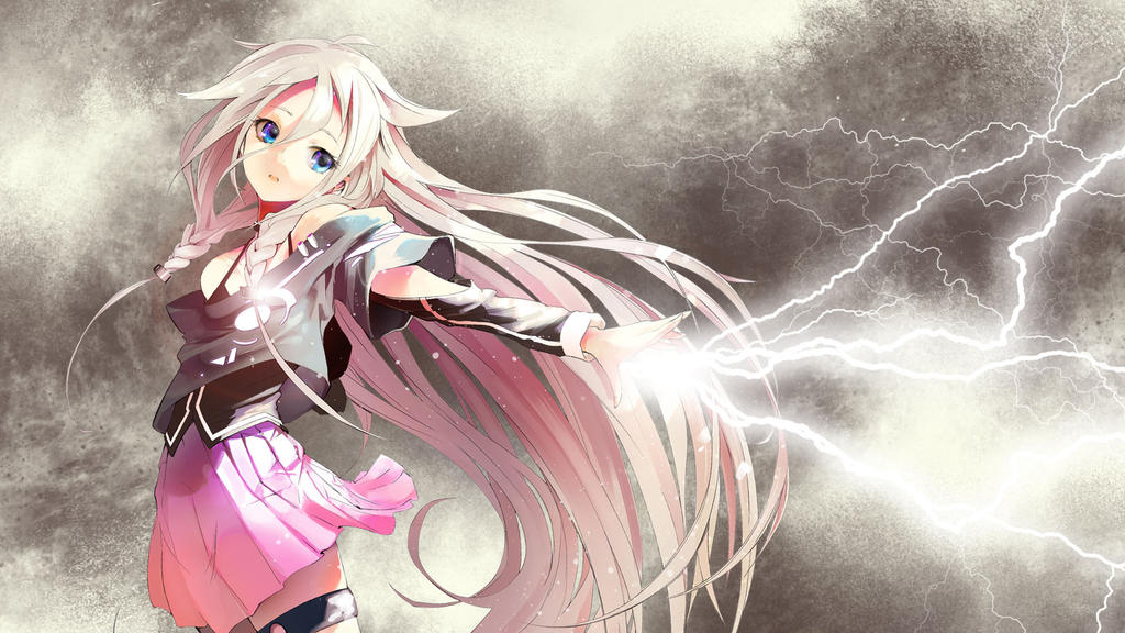 Lightning girl by Fyrokai