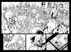 Avengers Initiative 15 inks
