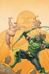 Green Arrow 12 Cover