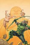 Green Arrow 12 Cover