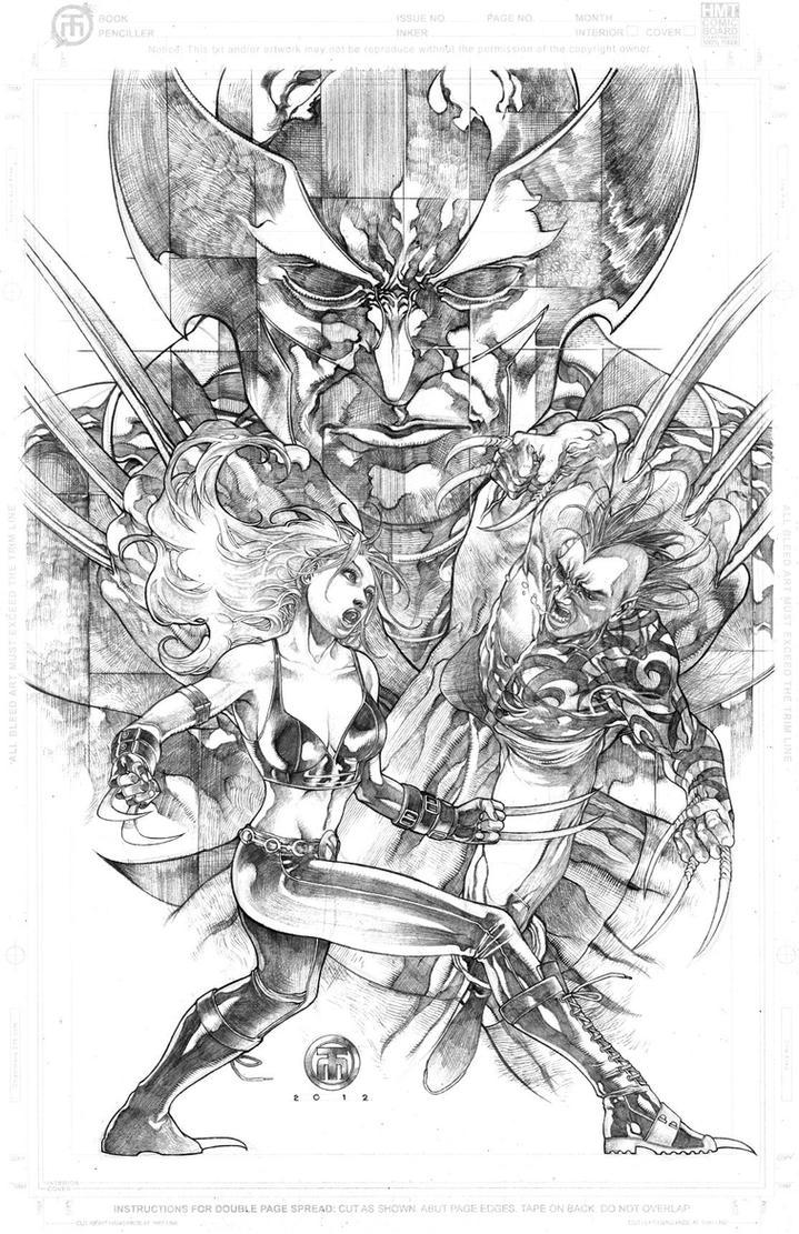 Daken vs X23 Shadowed Wolverine by harveytolibao on DeviantArt X 23 Daken