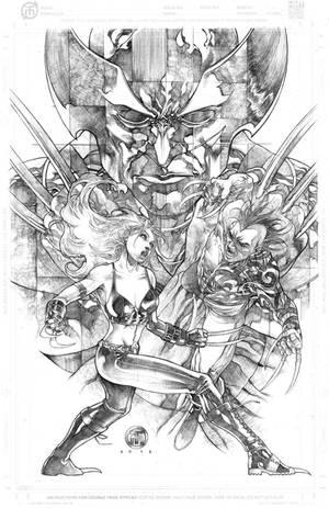 Daken vs X23 Shadowed Wolverine by harveytolibao