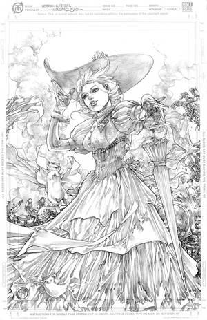 Victorian Supergirl by harveytolibao