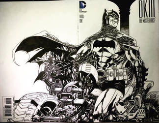 BATMAN blankcover by harveytolibao