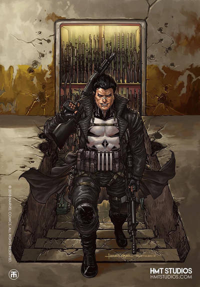 Marvel Punisher  by harveytolibao