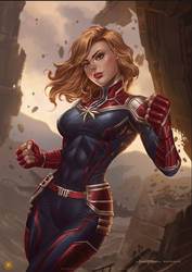 Ms Marvel - Harvey | Kevin Tolibao