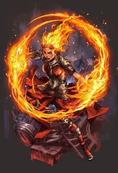 Chandra Magic : The Gathering