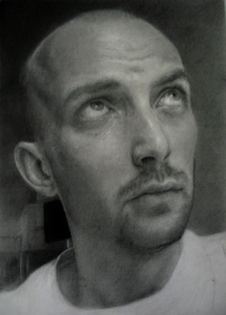 Self Portrait 2010 Wip by ianHaines